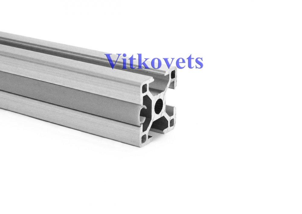 Купить Линейная заглушка для алюминиевого профиля 8х2000мм (серая)
