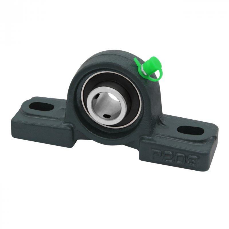 Купить Подшипниковый узел UCP203 самоустанавливающийся, подшипник в корпусе на вал 17 мм