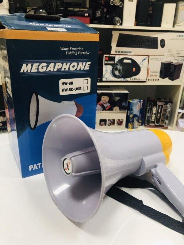 Купить Мощный Громкоговоритель (рупор) мегафон HW-8C
