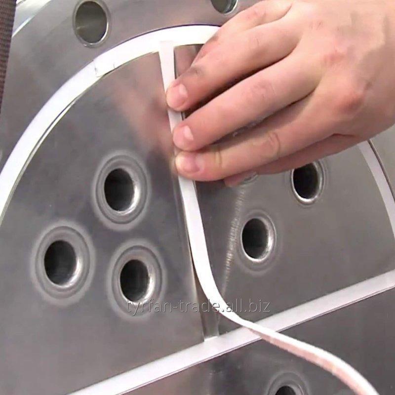 Купить Уплотнительная прокладочная фланцевая лента PTFE 5х2мм из экспандированного фторопласта PTFE