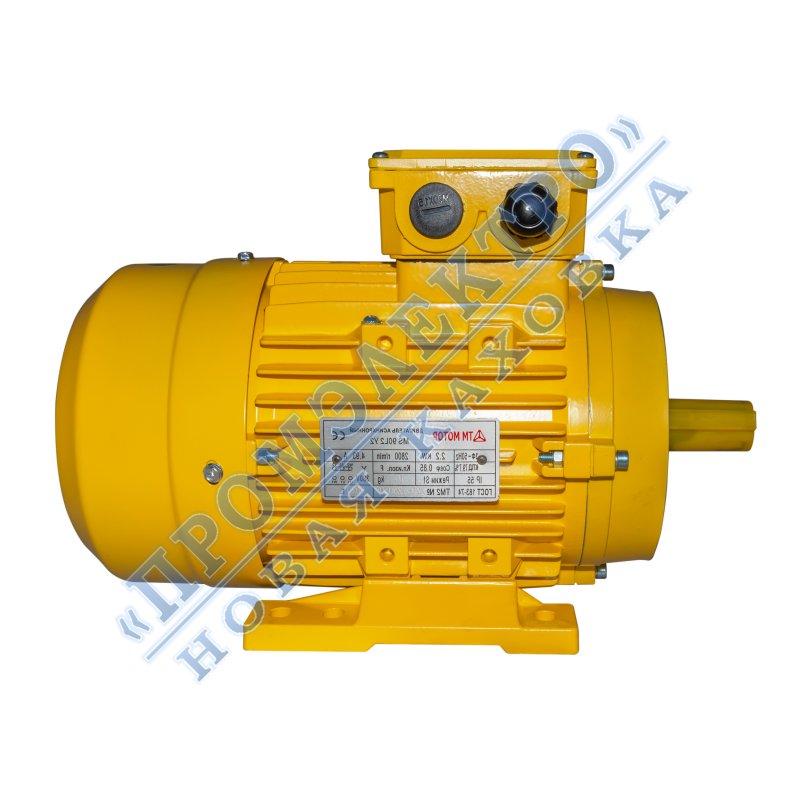 Купить Электродвигатель MS90L2 - 2,2кВт 3000 об/мин Малый фланец DIN