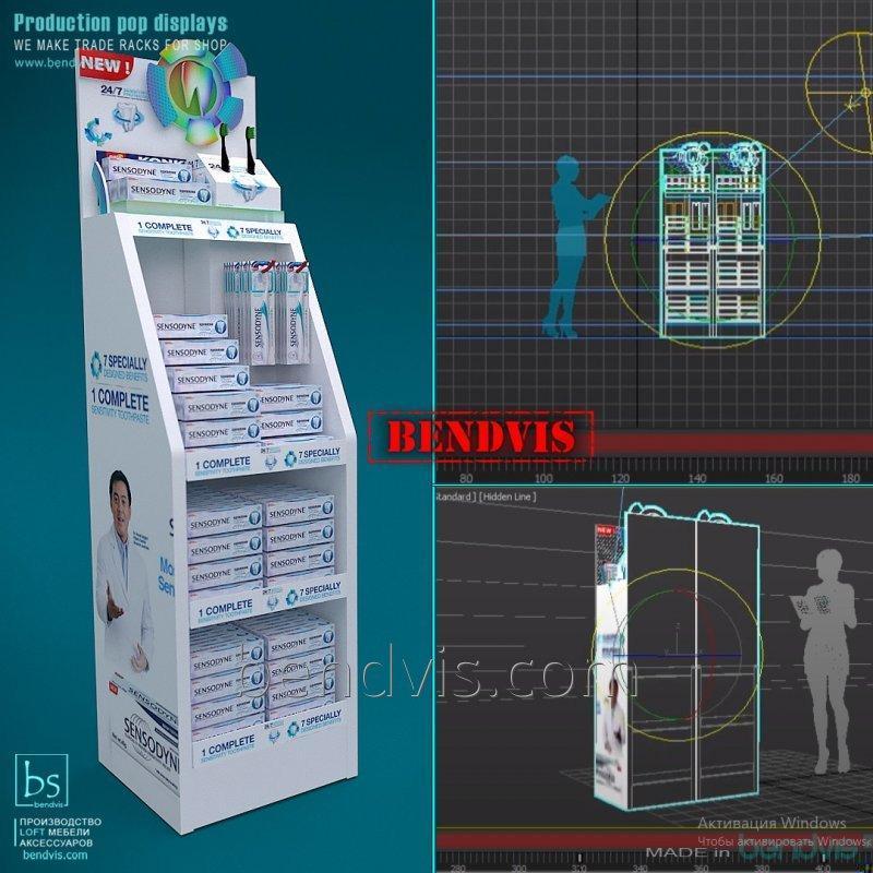 Проектируем и производим торговую мебель