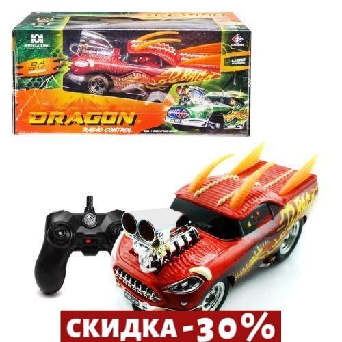 Купить Машина на радиоуправлении Muscle King: Дракон (красная)