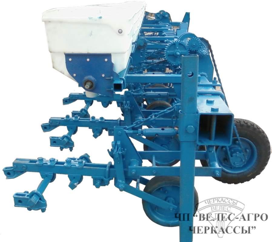 Культиватор КРН 5,6 Предназначен для междурядной обработки посевов пропашных культур, с одновременным внесением гранулированных минеральных удобрений