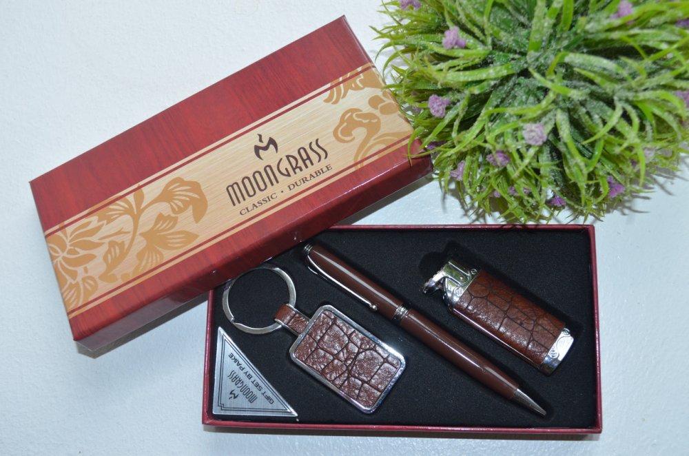 Купить Подарочный набор для мужчины ручка, зажигалка, брелок