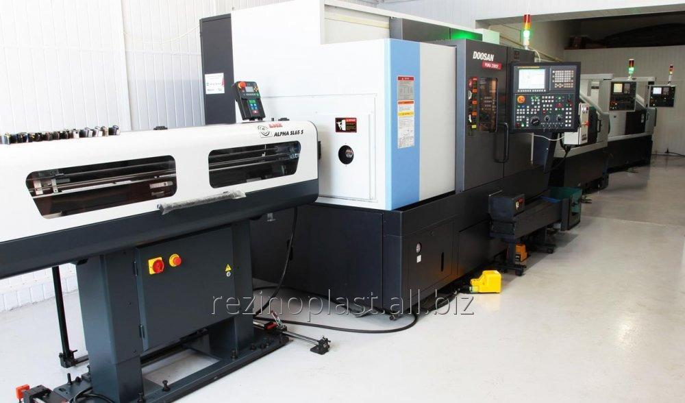 Buy Turning and milling processing of metal on machines with ChPU. Metal working
