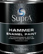 Эмаль с молотковым эффектом ТМ Supra 2.5, Серый