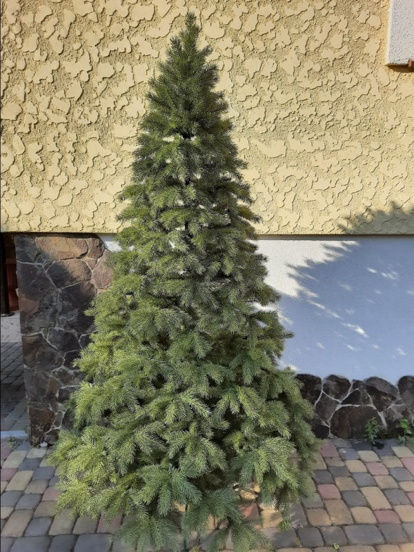 Купить Кедр 1.5м литая елка искусственная ель литая новогодняя искуственная ёлка густая с пластика Штучна лита ялинка