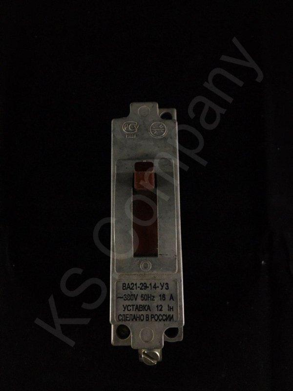 Купить Автоматический выключатель ВА21-29-14-У3 16А