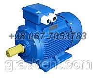 Электродвигатель АИР 132M4 11 кВт, 1500 об/мин. Лапы, фланец, комбинированный