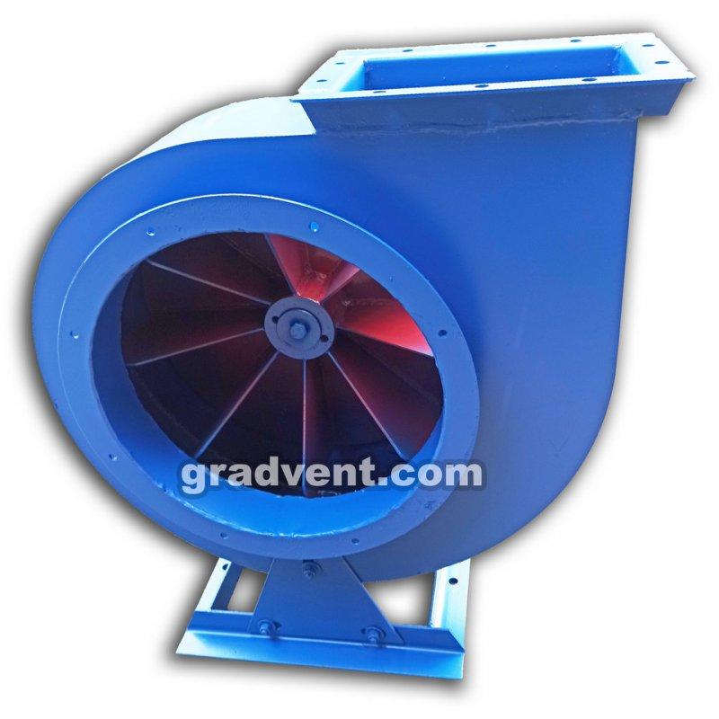 Вентилятор пылевой ВРП-5 (ВЦП 5-45, ВРП 100-45 №5) с электродвигателем 5,5 кВт, 1500 об/мин