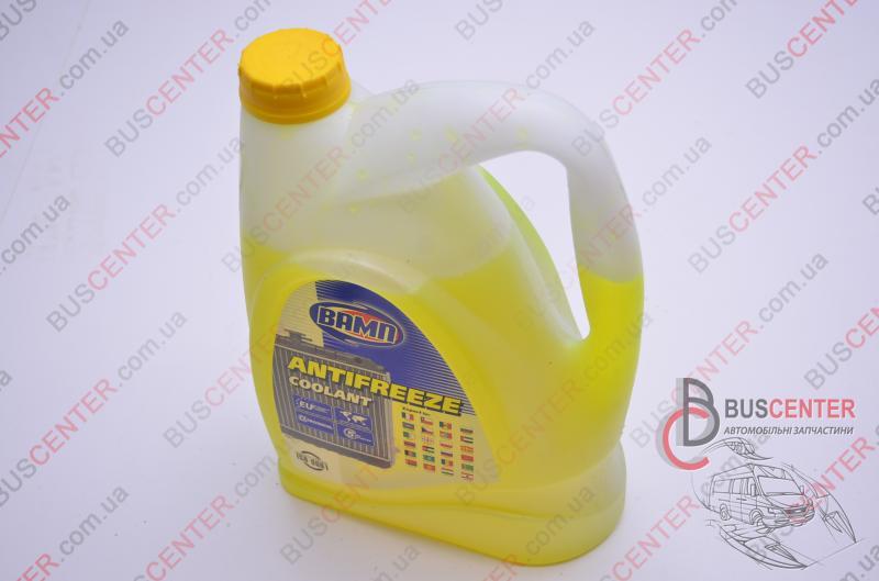 """Купить Антифриз -40°С 5.0 л желтый """"G13"""" (охлаждающая жидкость, тосол """"готовый к применению"""") Fiat Ducato 280 (1982-1990) 4820031393577 ВАМП А-40 ВАМП 5л желтый"""
