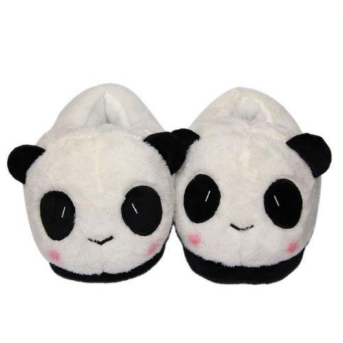 Тапочки кигуруми Панды белые