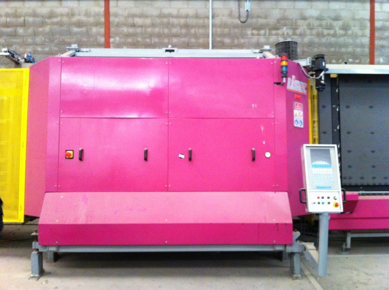 Buy The Steklopaketny Lisec line 1600 X 2500 about gas a press and the robot of sealing