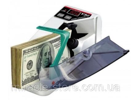 Купить Счетная ручная машинка UKC V30 работает от сети и от батареек аппарат для счета