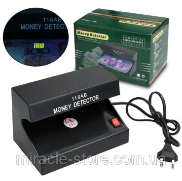 Купить Детектор валют ультрафиолетовый Money Detector AD-118AB аппарат для проверки денег от сети