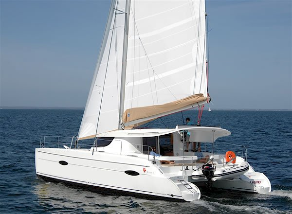 Buy Sailing catamaran of Lipari 41, Fountaine Pajot, 2011 of year