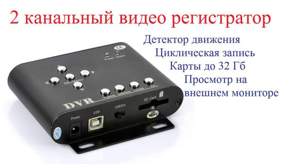 Видеорегистратор камера наблюдения