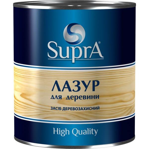 """Средство декоративно-защитный для древесины """"SUPRA"""" (лазурь для древесины)"""