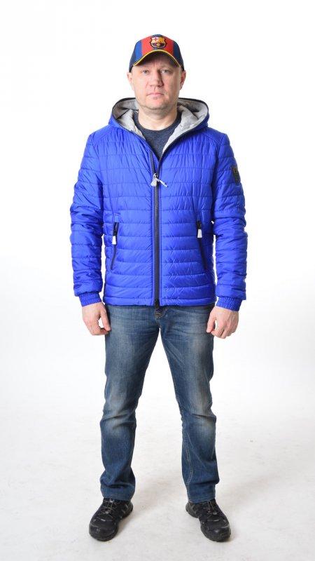 Купить Мужская куртка ветровка Vivacana 67SS101 синяя