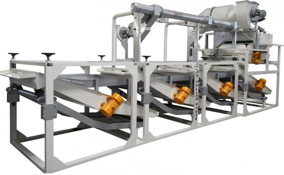 Оборудование для отделения ядра подсолнечника DE-HULLER 4x038