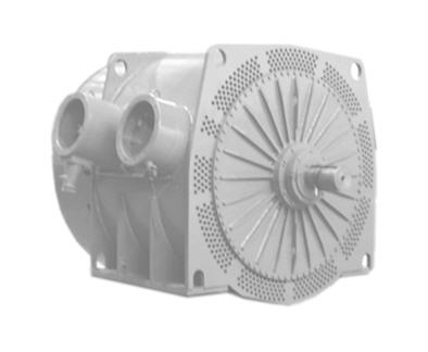 Electric motors explosion-proof VAO4-450, 560, 630 series of dimension, with power from 200 to 2000 kW (6000, 10 000V)