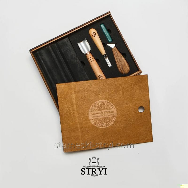 Набор инструментов для резьбы по дереву для начинающего, арт.403013