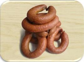 Черева свиные категории С. Производство колбасных оболочек. Оболочки