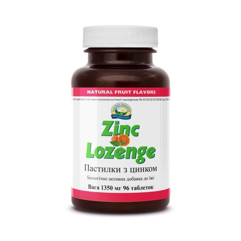 Купить Zinc Lozenge Пастилки с цинком, NSP, США