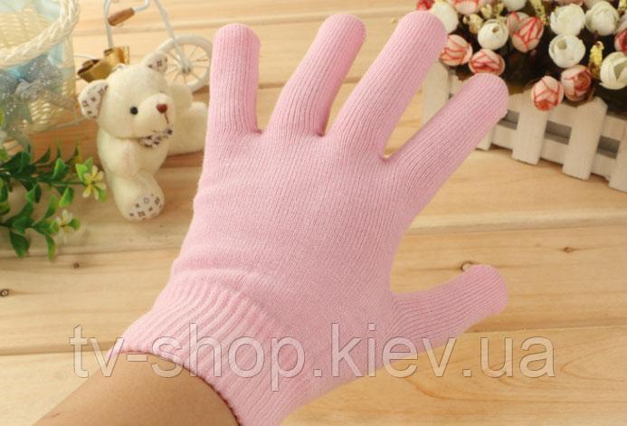 Купить Gel Spa Gloves.(Гелевые увлажняющие перчатки) , розовые