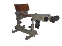 Купити Стилоскоп універсальний СЛУ для швидкого візуального якісного й порівняльного кількісного спектрального аналізу чорних і кольорових сплавів у видимій області спектра, для експресних аналізів, до точності яких не пред'являється високих вимог