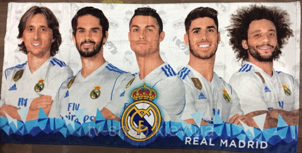 Купить Полотенце Real Madrid -2, 70х140 см( Венгрия)