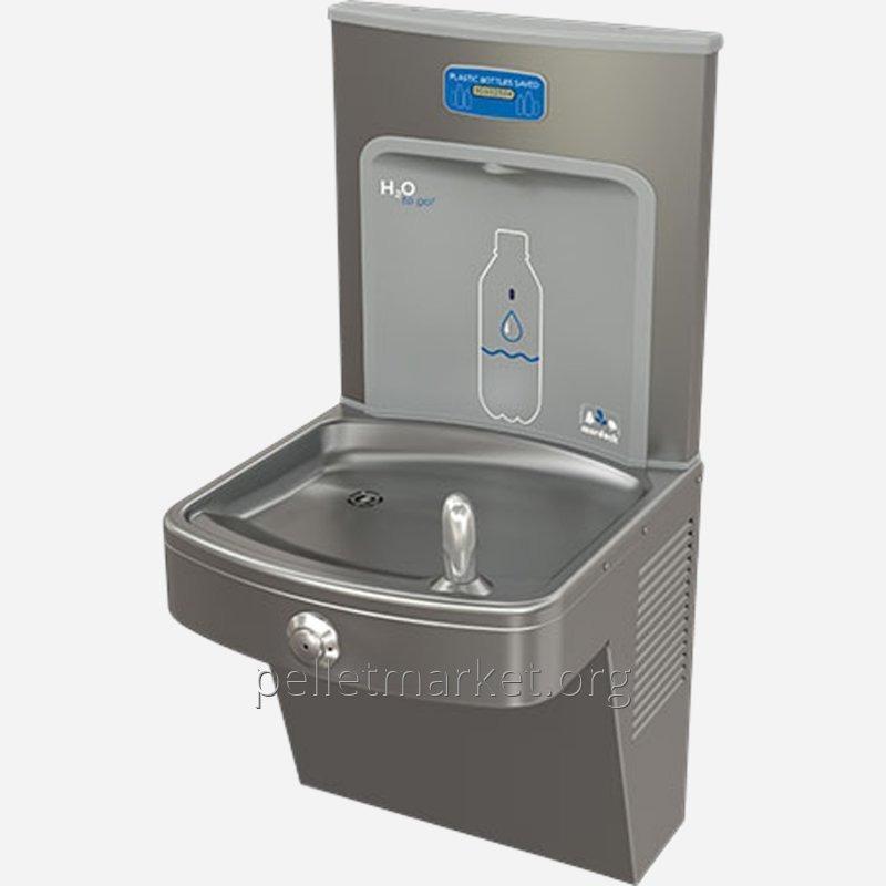 Питьевой фонтанчик с блоком наполнения бутылок Murdock A171400-BF12