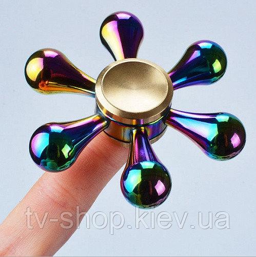 Купить Спиннер медный Fidget spinner Хамелеон цветок