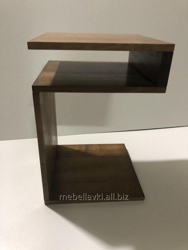 Купить Столик приставной прикроватный из дерева
