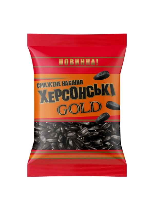 Купить Семечки подсолнечника жареные Херсонские GOLD 140 гр.