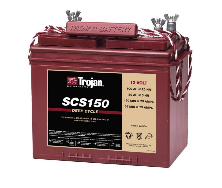 Купить Стартерно-тяговая аккумуляторная батарея SCS150