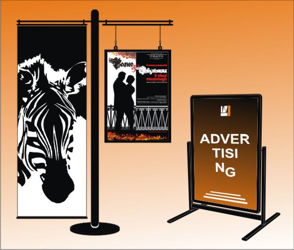 Buy Information and advertizing rack