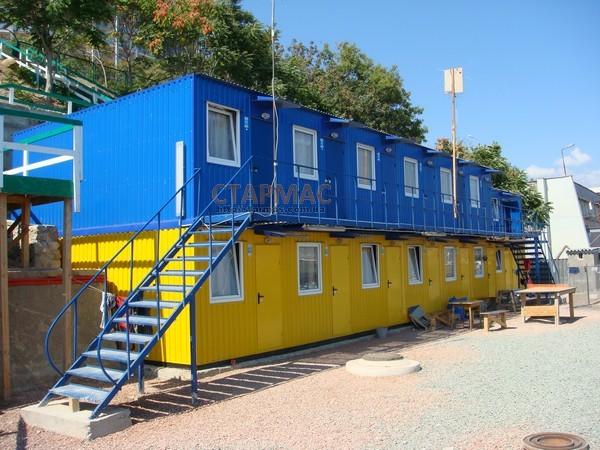 Купить Общежитие на 120 человек контейнерно блочного типа