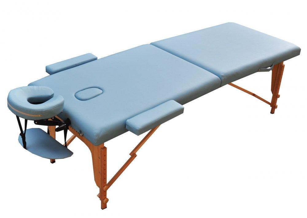 Стол для массажа складной, LIGHT BLUE, размер L, ZET-1042 ZENET