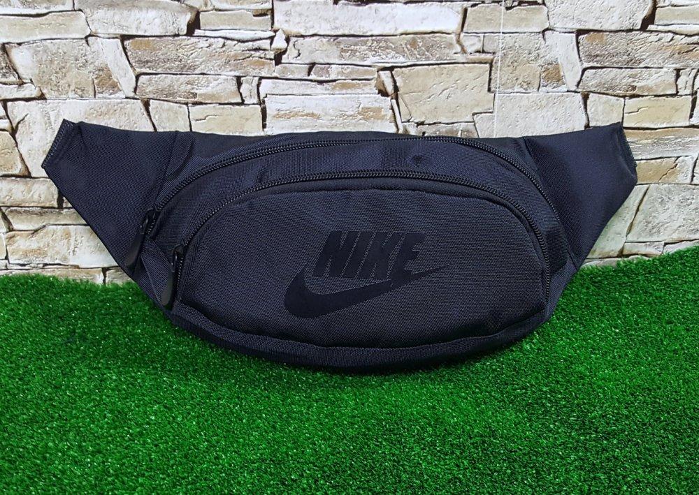 Купить Поясная сумка, бананка, барсетка ,чёрная Nike