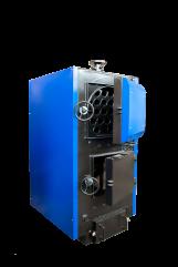 Купить Комбинированный стальной трехходовой твердотопливный водогрейный котел серии КВР 100-150 СТМ.Украина.
