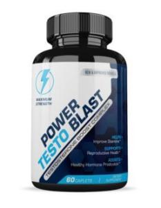 Купить Power Testo Blast (Пауер Тесто Бласт) - капсулы для роста мышечной массы