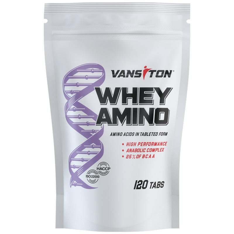 Купить WHEY AMINO (Вей-Амино 120 таблеток)
