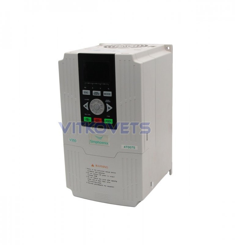 Купить Инвертор Simphoenix V350-4T0075, 7.5KW 17A 380V
