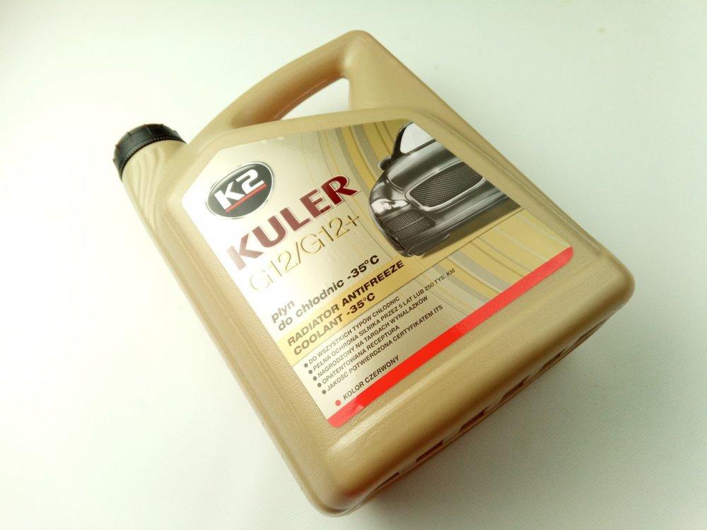 """Антифриз """"K2"""" Kuler -37 (красный) 5 л."""