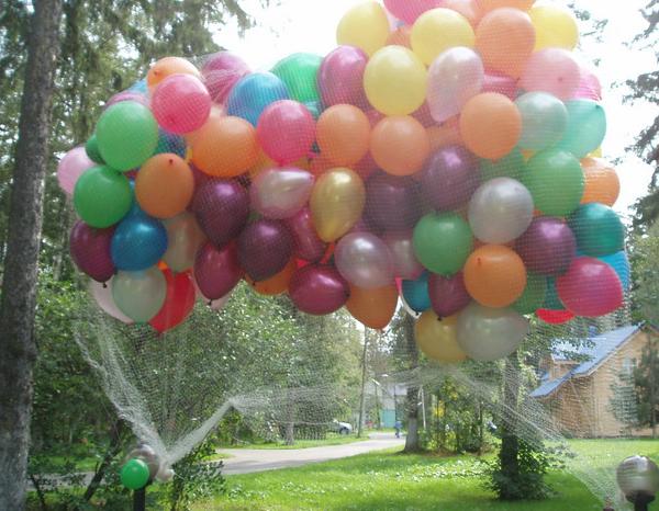 как дома сделать шарики с гелием