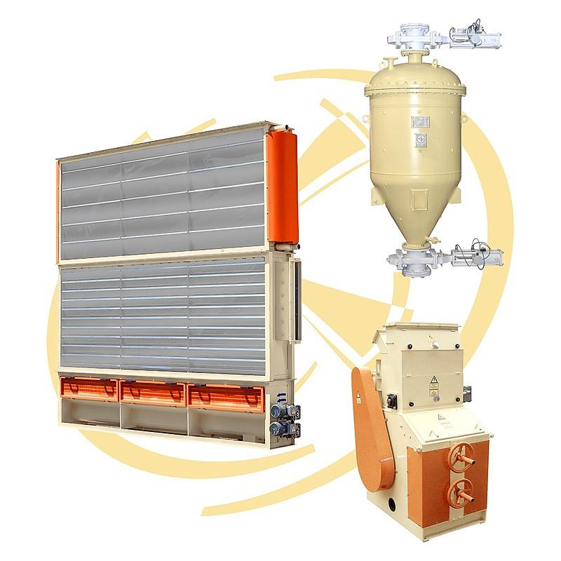 Купить Комплектный крупозавод по переработке зерна гречихи производительностью 120 т/сут, гречезавод