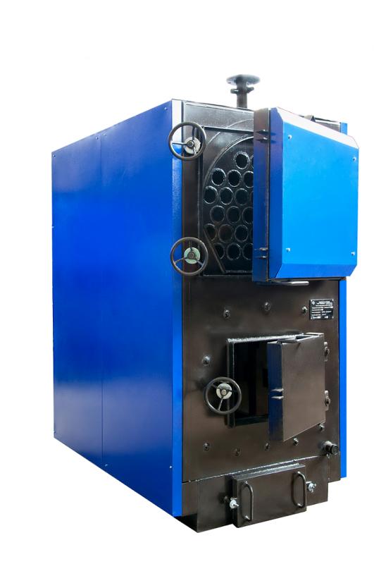 Купить Комбинированный стальной трехходовой твердотопливный водогрейный котел серии КВР 200-250 СТМ. Украина.Купить, цена.