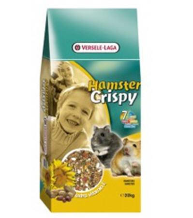 Купить Versele-Laga Crispy ХОМЯК (Hamster) корм с витамином Е для хомяков